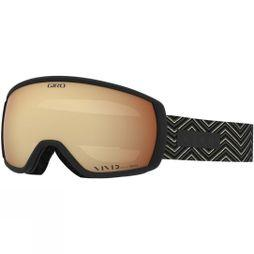 Giro Womens Facet Goggle Black Zag / Vivid Copper