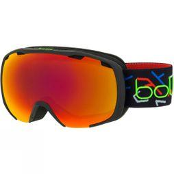 Bolle Kids Royal Goggle Matt Black Green/ Sunrise