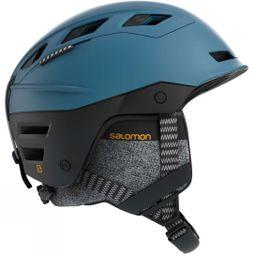 Salomon QST Charge Snow Helmet Moroccan Blue/ black