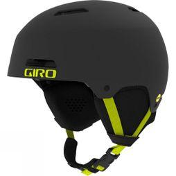 Giro Men's Ledge MIPS Helmet Matte Warm Black / Citron