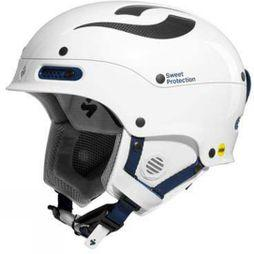 Sweet Protection Womens Trooper II MIPS Helmet Gloss White/ Gloss Black