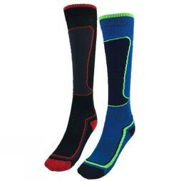 Horizon Kids Active Zone Sock 2 Pack BLACK & BLUE