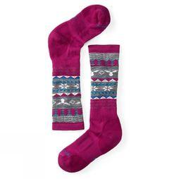 Girl's Wintersport Fairisle Moose