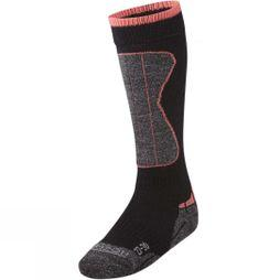 Horizon Kid's Wintersports Merino Sock BLACK/DIVA PINK