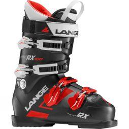 Lange RX 100 Ski Boots Black Red