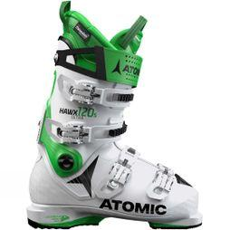 Atomic Mens Hawx Ultra 120 S Ski Boot White / Green