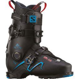 Salomon Mens S/Lab Mtn Ski Boots Black / Transcend Blue
