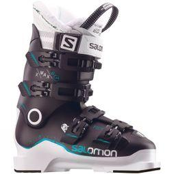 Salomon Womens X Max 110 W Ski Boots Black / White / Topaz Green