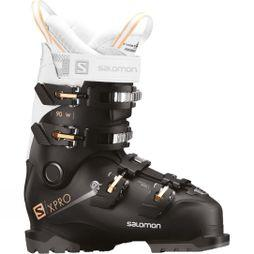 Salomon Womens X Pro 90 W Ski Boots Black / White / Corail