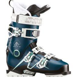 Salomon Womens QST Pro 90 W Ski Boots Petrol Blue / Black / Aruba Blue