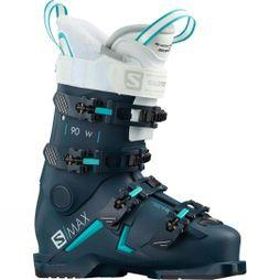Salomon Womens S/Max 90W Ski Boot Black blue