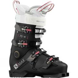 Salomon Women's S/Max 70W Ski Boot Black/White/Pink