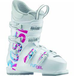 Rossignol Kids Fun Girl J4 Ski Boots WHITE