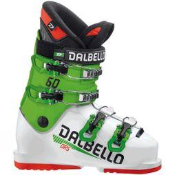 Dalbello Kids DRS 60 Ski Boot White / Race Green