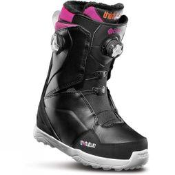 Thirty Two Womens Lashed Double Boa Snowboard Boot Black / Pink / White