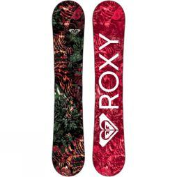 Roxy Womens XOXO C2E Snowboard Dark Red / Multi