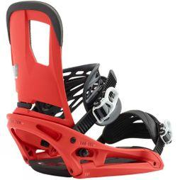 Burton Cartel EST Snowboard Bindings Red