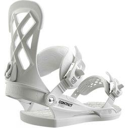Union Mens Contact Pro Snowboard Binding White