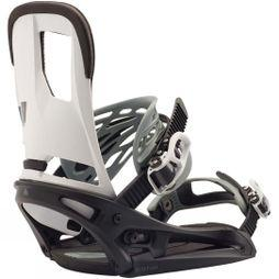 Burton Men's Cartel EST Snowboard Binding Black / White