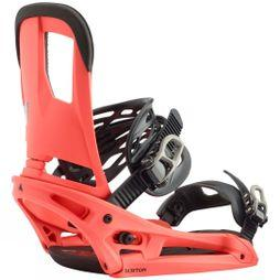 Burton Men's Cartel EST Snowboard Binding Red