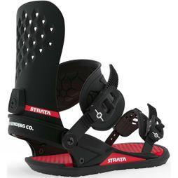 Union Mens Strata Binding Black / Red