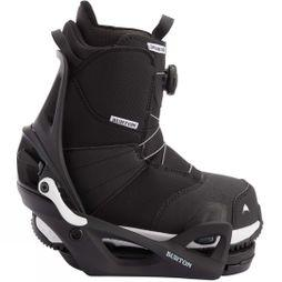 Burton Kids Zipline Step On Boot + Binding Package Black + Black