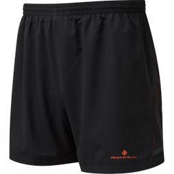 Ronhill Mens Stride 5in Shorts Black/Azurite