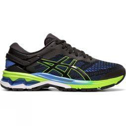 Asics Men's Gel-Kayano 26 BLACK/ELECTRIC BLUE
