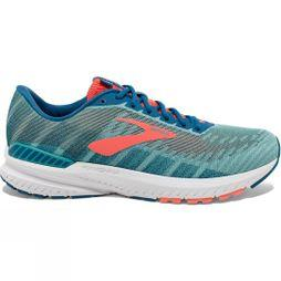 Brooks Womens Ravenna 10 Latigo/Coral/Blue