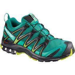 Salomon Women's XA Pro 3D Gore-Tex Deep Lake/Black/Lime Green