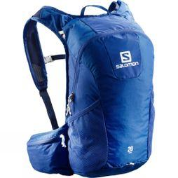 Salomon Trail 20 Backpack Surf The Web/White