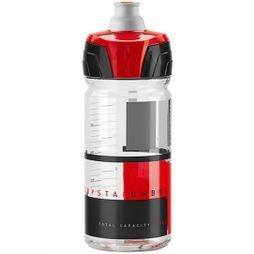 Elite Crystal Ombra Bottle 550ml Clear Red