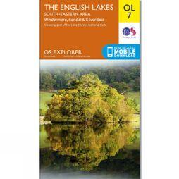 Ordnance Survey English Lakes(South East) 7 V16