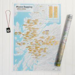 ITMB Munro Bagging Collect & Scratch Map  1sr, May 2017