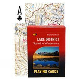 Harvey Maps Lake District: Scafell to Windermere Cards 1st ed, Nov 2016
