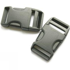 25mm Side Squeeze Buckle X 2