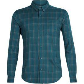 Mens Compass Flannel Long Sleeve Shirt