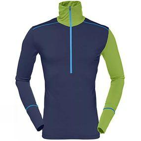 Men's Wool Zip Neck Baselayer