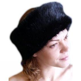 Wide Fur Headband