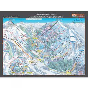 Wipeout Arosa Lenzerheide Piste Map Lens Cloth