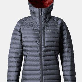 Womens Microlight Alpine Extra Long Jacket