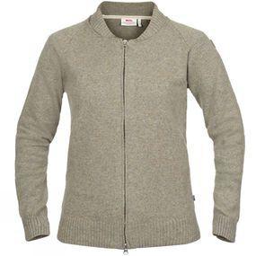 Womens Övik Re-Wool Zip Jacket