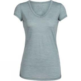 Womens Spheria Short Sleeve V Neck Tee