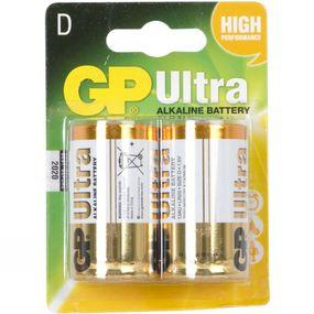 Ultra Alkaline D Battery (Pack of 2)
