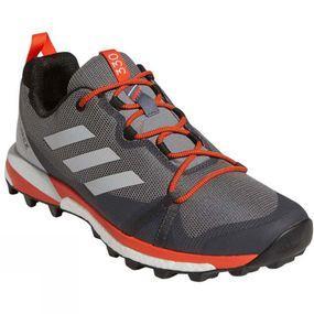 Image of Adidas Mens Terrex Skychaser LT Shoes Grey Three