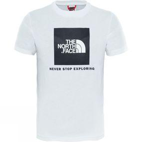 Image of The North Face Youth Box SS Tee TNF White