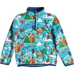 Boys Mr Men Aker Half-Zip Mid Layer