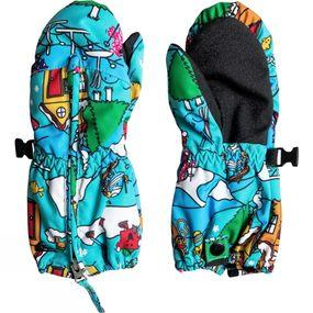 Boys Mr Men Indigo Rinsee Snowboard/Ski MIttens