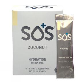 SOS Electrolyte Drink - Coconut 10 Sachets
