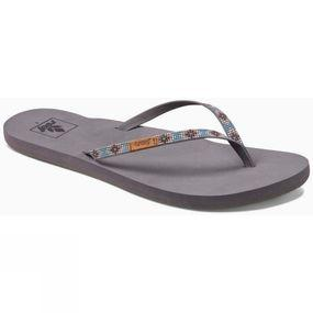 Womens Slim Ginger Beads Flip Flop
